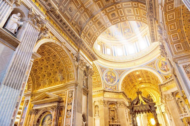 Museo del Vaticano, Capilla Sixtina y Basílica de San Pedro