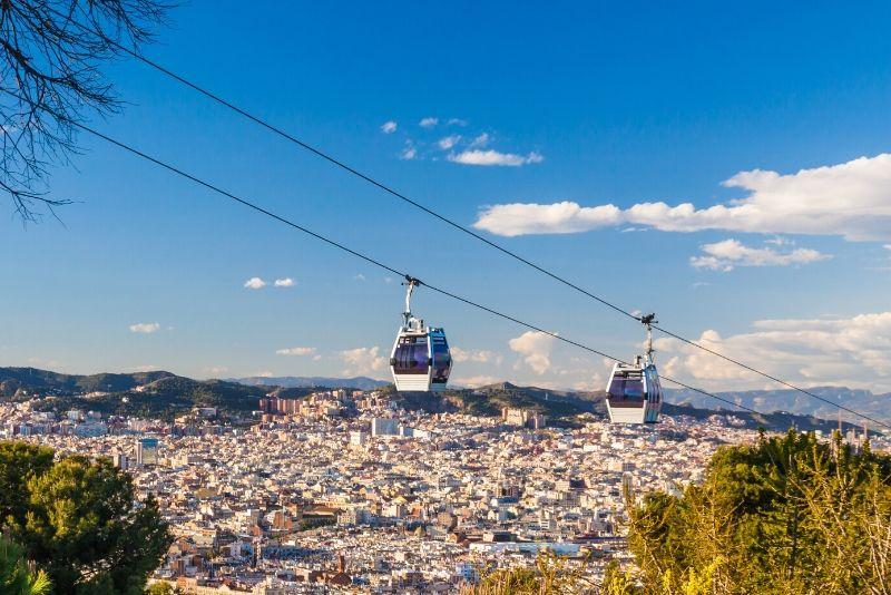 Giro in funivia del Montjuïc a Barcellona: biglietto di andata e ritorno