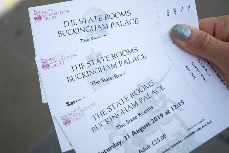 Buckingham Palace tickets