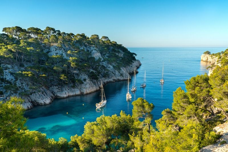 Calanques National Park day trips from Marseille