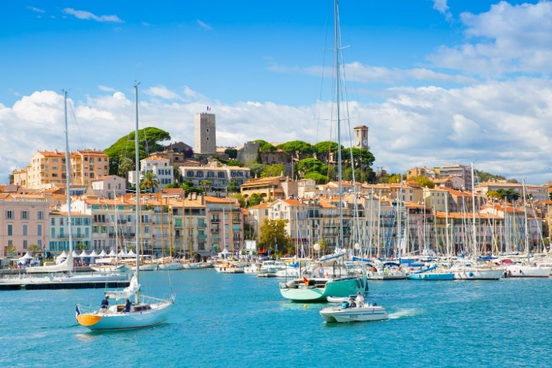 Cannes day trips from Marseille