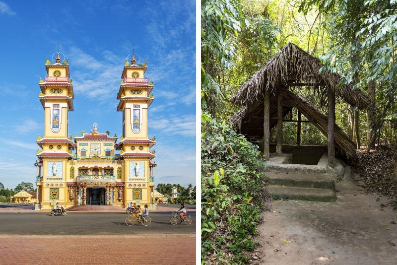 Cao Dai Temple and Cu Chi Tunnels Full-Day Tour