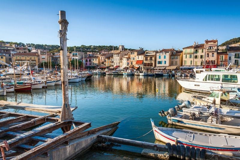 Cassis day trips from Marseille