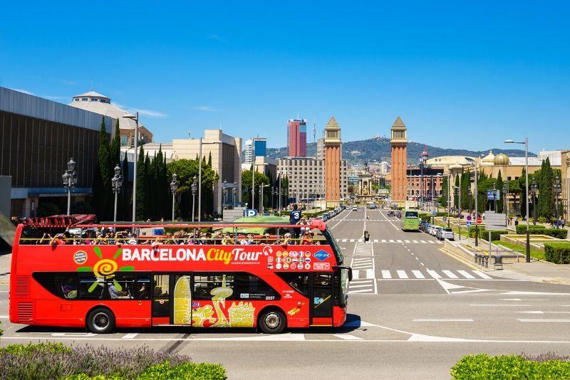 City Sightseeing Barcelona Tour en autobús turístico con paradas libres