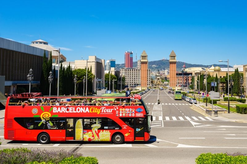 Tour in autobus hop-on hop-off di Barcellona con City Sightseeing