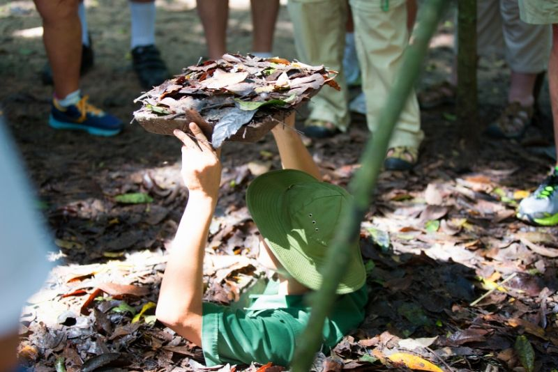 Cu Chi Tunnels: Morning or Afternoon Guided Tour