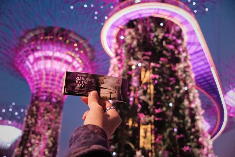 Gardens by the Bay tickets price