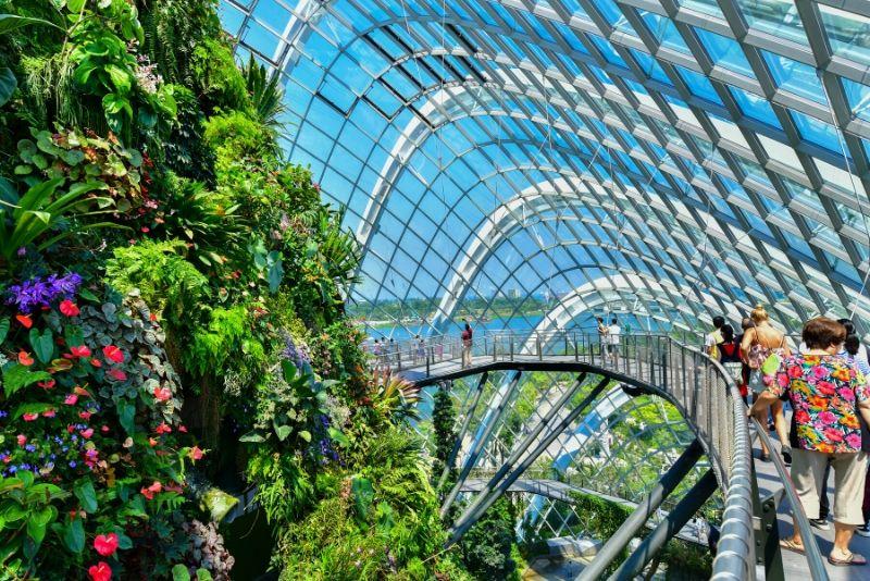 Gärten an der Bucht - was zu sehen