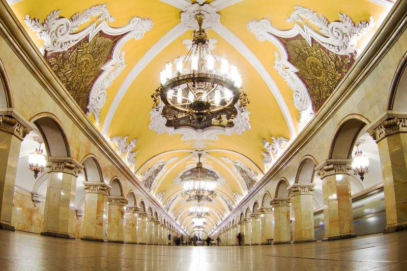 Guided Tour of the Moscow Metro