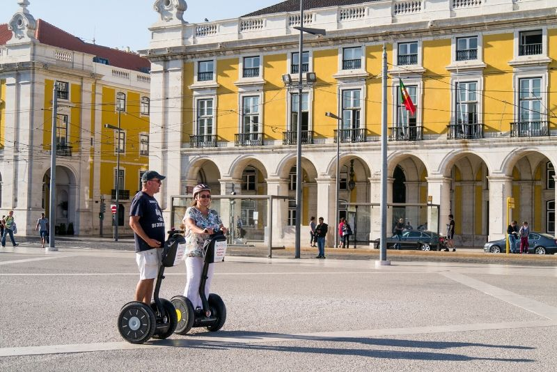 Lisbon: 2.5-Hour Food Tour by Segway