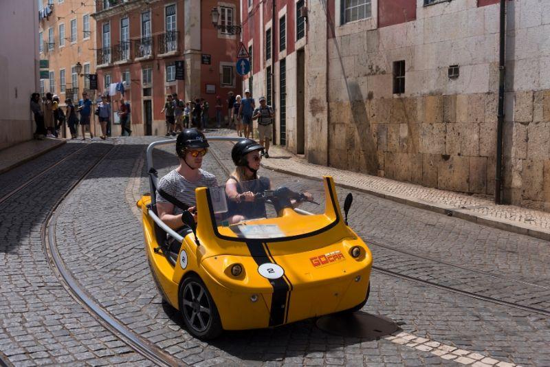 Lisbon: GPS Self-Guided GoCar City Exploration