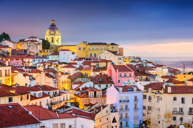 Lisbon Sunset Small-Group Walking Tour with Fado Performance