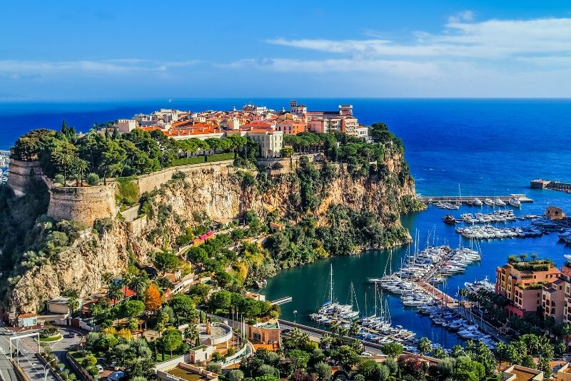 Monaco day trips from Marseille