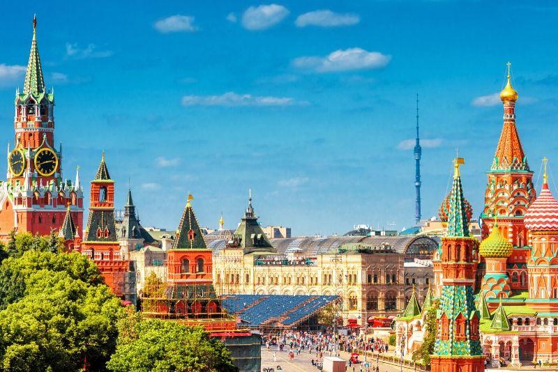 Moscow City Walking Tour