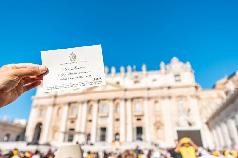 Papal Audience tickets price
