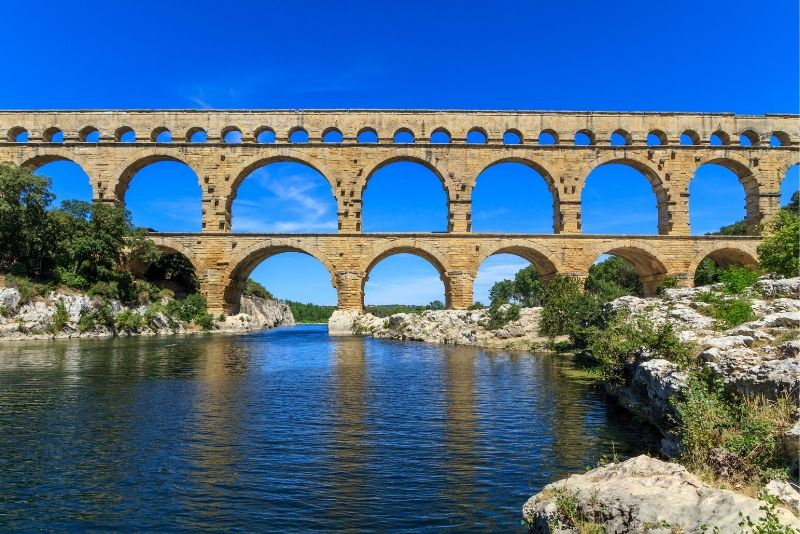Pont du Gard day trips from Marseille