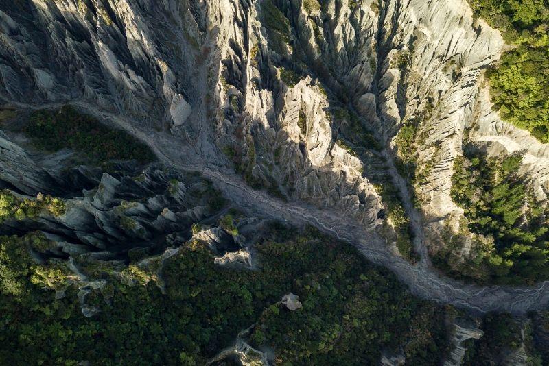 Putangirua Pinnacles, New Zealand