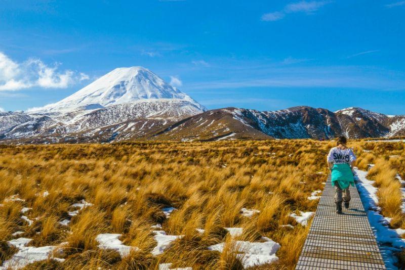Tongariro National Park, New Zealand.