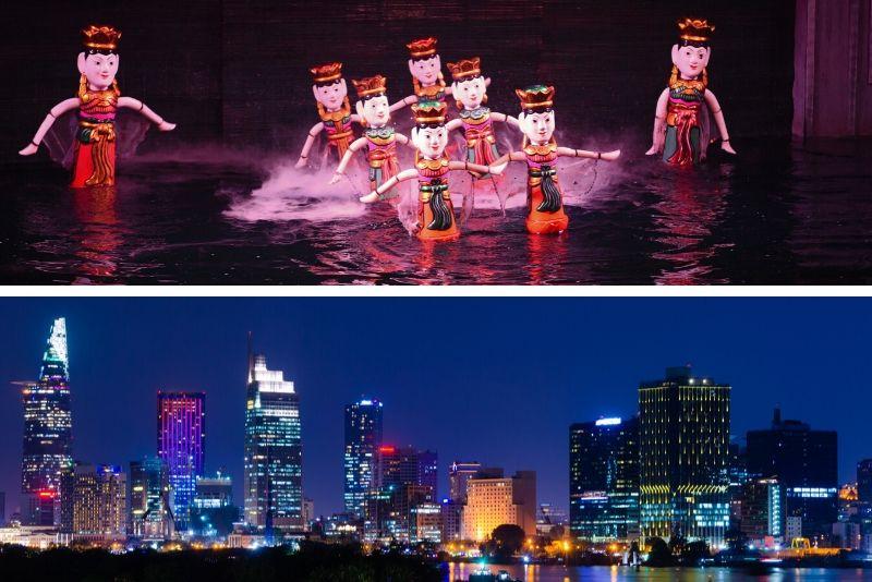 Water Puppet Show & Dinner Cruise