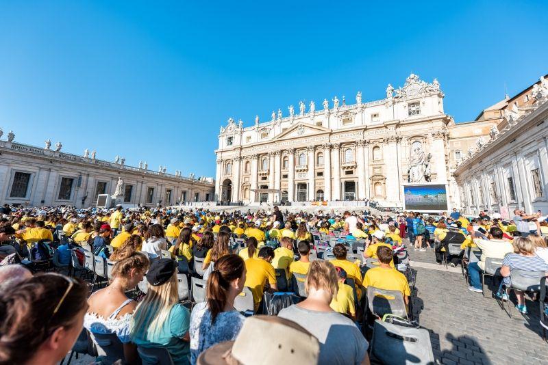 Cómo reservar entradas para la audiencia papal