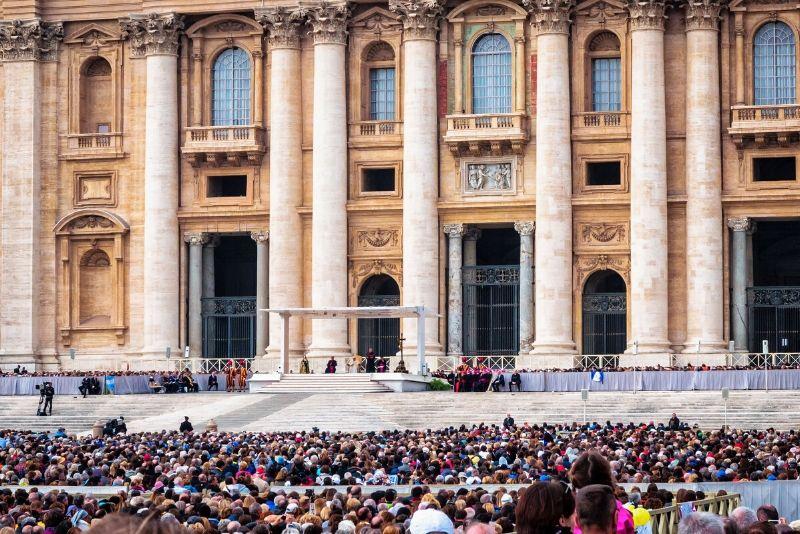 ¿Qué es una audiencia papal?