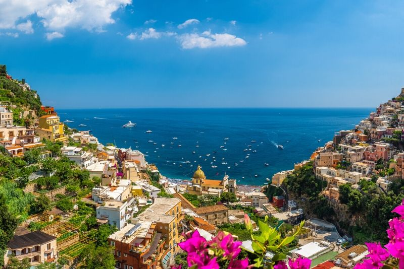 Amalfi Coast Excursion from Salerno