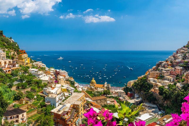 Amalfiküste Ausflug von Salerno