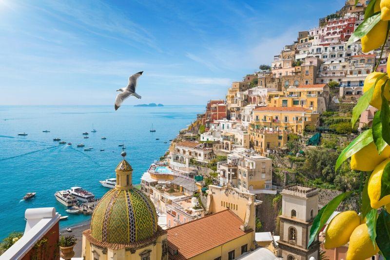 Costa de Amalfi: degustación de Limoncello y crucero panorámico