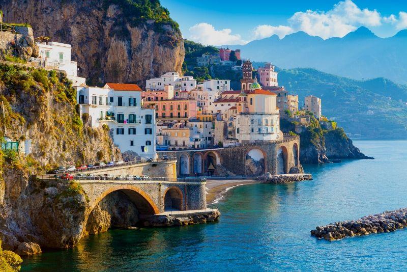 Tour di 1 giorno in Costiera Amalfitana e Pompei da Napoli