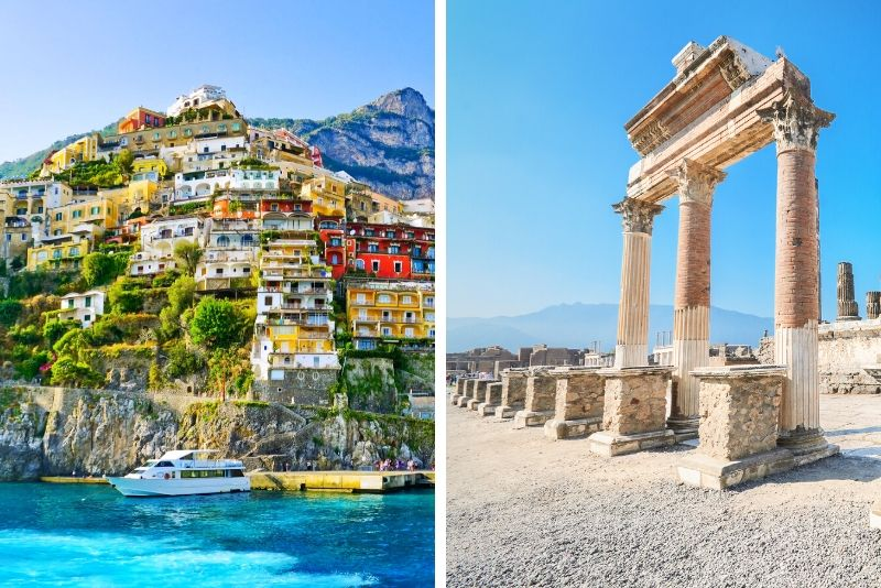 Amalfi Coast and Pompeii Full-Day Tour from Naples