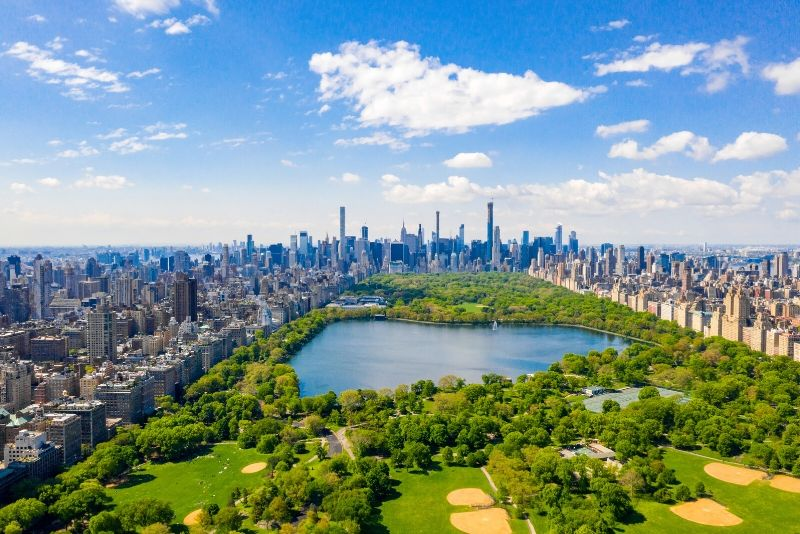 Central Park New York TV & movie tours