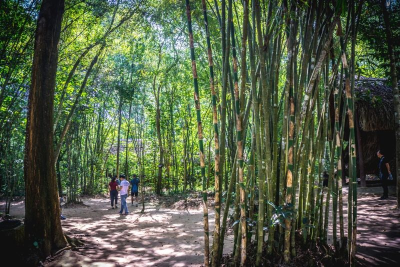 Cu Chi tunnels - best time to visit