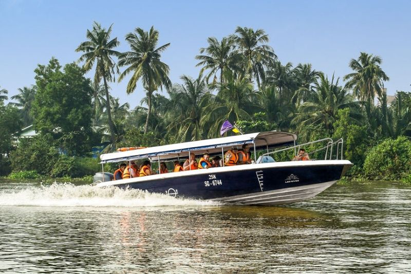 Cu Chi tunnels boat tours from HCMC
