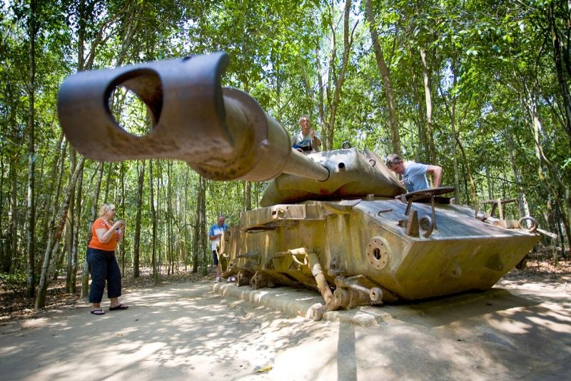 Cu Chi tunnels guided tours