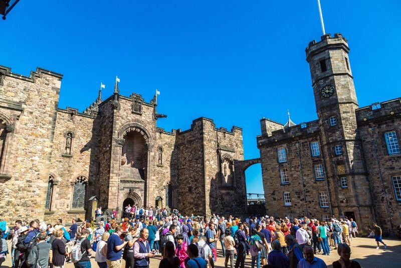 Entradas para el Castillo de Edimburgo: sin colas