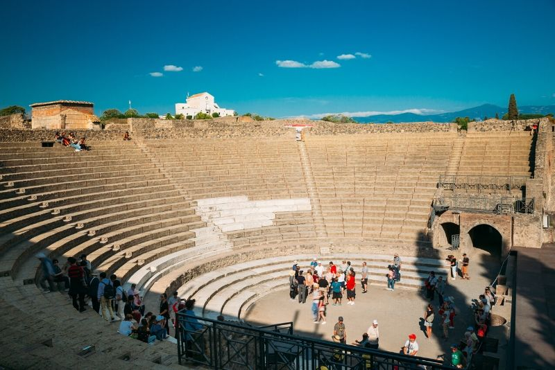 From Positano Skip-the-line Pompeii & Mount Vesuvius Guided Tour