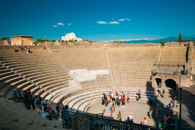 Da Positano Salta la fila Pompei e Tour guidato del Vesuvio