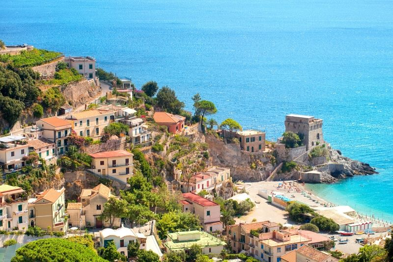 From Rome: Amalfi Coast & Positano Guided Trip by Train