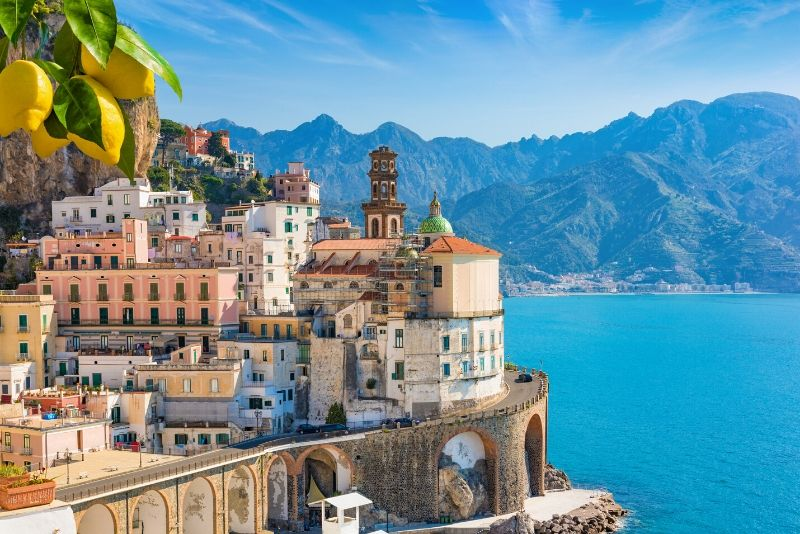 From Sorrento: Amalfi Coast Small-Group Tour by Minivan