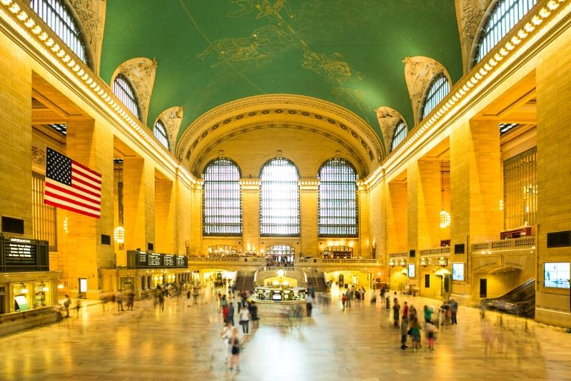Grand Central Terminal New York TV & movie tours