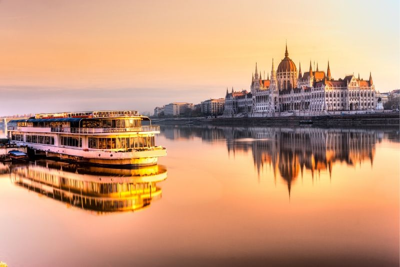 Hungarian Parliament Building combined tickets