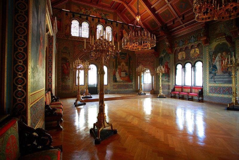 Neuschwanstein Castle - guided tours