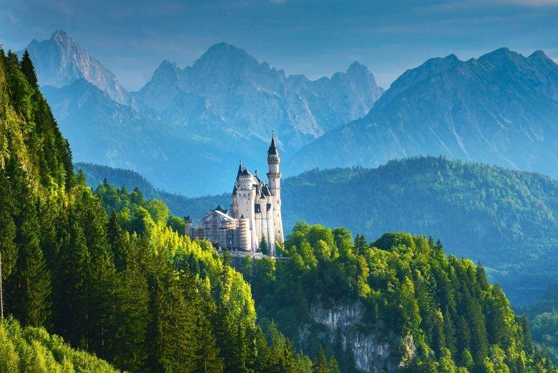 Neuschwanstein Castle - how to get there