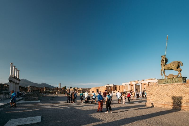 Pompeii Half-Day Tour from Rome with High-Speed train