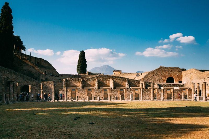 Gita di mezza giornata a Pompei da Napoli