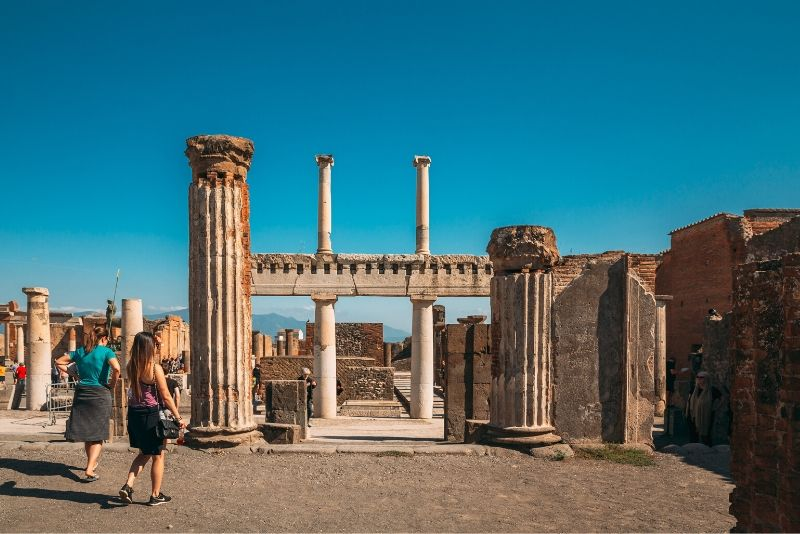 Pompeii Skip The Line Entry Tickets with Audio Guide
