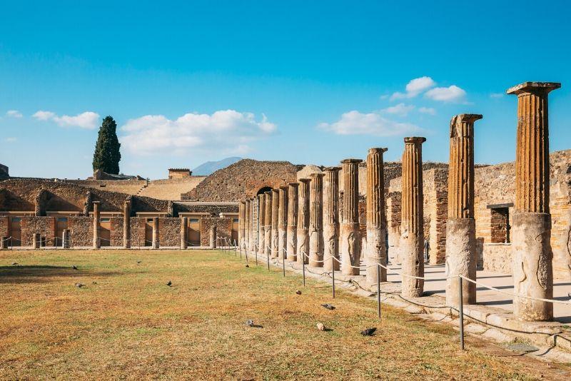 Tour di un'intera giornata a Pompei e Vesuvio da Sorrento