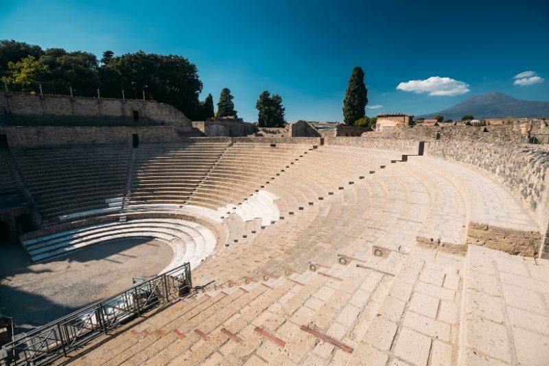 Escursione archeologica di intera giornata a Pompei ed Ercolano da Napoli