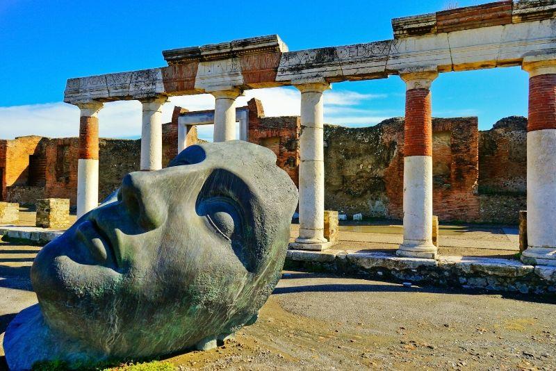 Pompei ed Ercolano piccolo gruppo: salta la coda da Sorrento