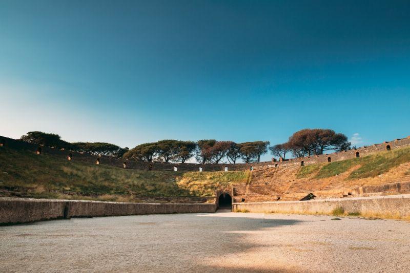 Tour guidato di gruppo di Pompei e Vesuvio dalla Costiera Amalfitana